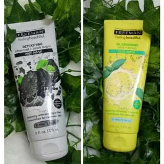 [NEW] FREEMAN MASK LEMON GREEN TEA APPLE PINK SALT