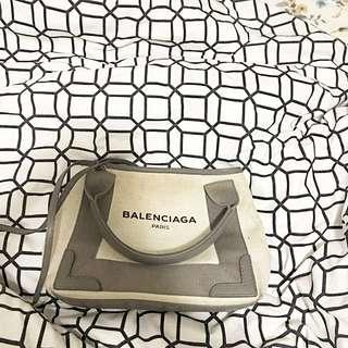 Balenciaga Grey Pochette Crossbody