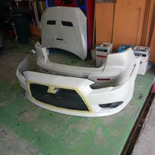 ralliart lancer bodyparts