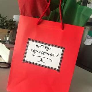 Customized Christmas Gift Bag🎄✨