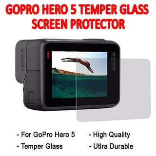 TGP068 Tempered Glass Screen Protector for GoPro Hero 5 & 6