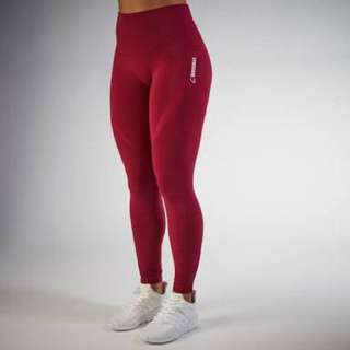 Gymshark Seamless Leggings -Beet