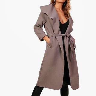 Brand new belted coat