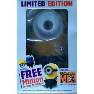 Nestle Limited Edition Minion Display Container