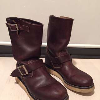 Redwing engineer boots