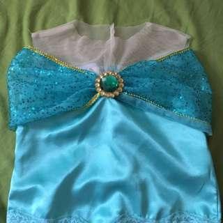 Disney Princess Jasmine costume (Aladdin) suitable for 3-6 years old