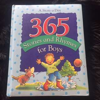 365 stories and rhymes for boy.
