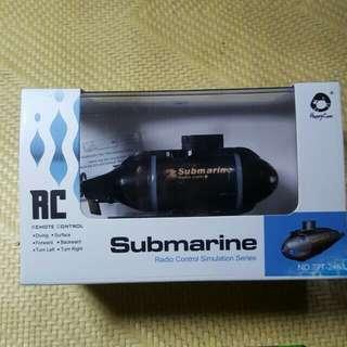 迷你遙控潛水艇