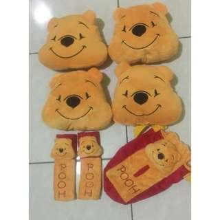 Bantal Sandaran Jok Winnie The Pooh