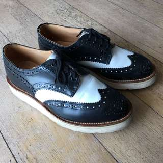 Trickers x Endclothing Brogue Country Leather Shoes UK7