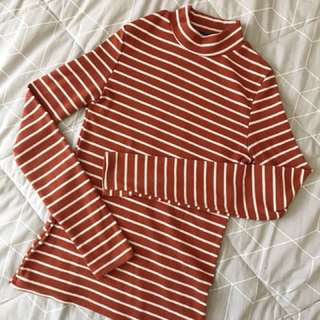 ribbed long sleeve top from chicabooti!