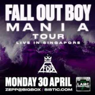 Fall out boy Mania tour tickets!