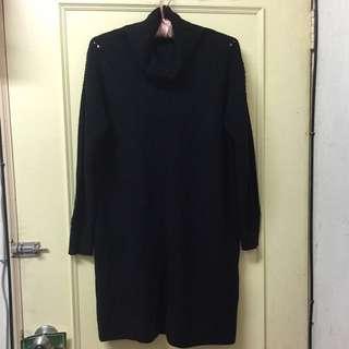 🚚 Lowrys farm黑色長版洋裝