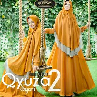 Qyuza 2 syari by queenzy