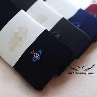 日本小土星刺繡褲襪(加厚款)