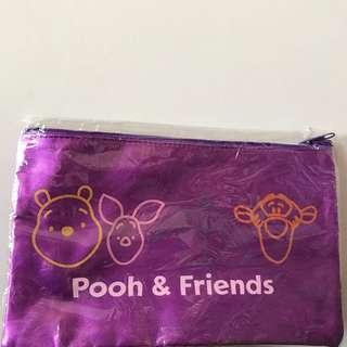 Pooh & Friends purple pouch