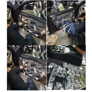 Car Sound Proofing - Whole car