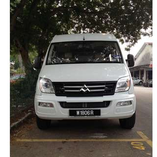 2012 Maxus V80 2.5 Window Van 12 Seater