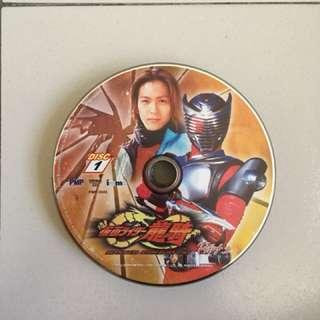 Masked Rider Ryuki VCDs