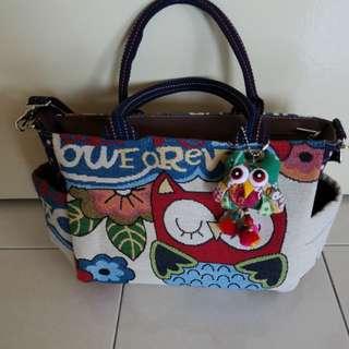 Owl Tote Sling Bag