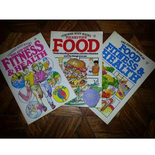 [OLD] About Food, Fitness & Health for Children Books