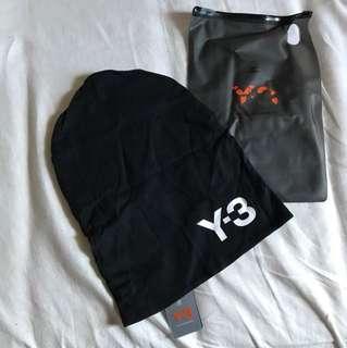 Y3 雙面針織帽