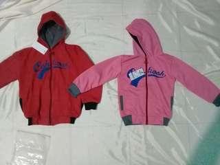 Jaket anak pink (2thn)__merah 4thn