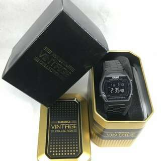 Auth Casio triple black