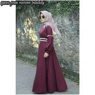Queen gown dress