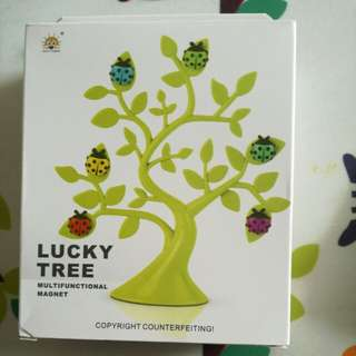 [Lucky Tree] Magnetic note stand with ladybirds