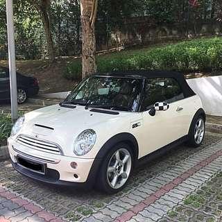 Mini Cooper S Cabriolet For Rent