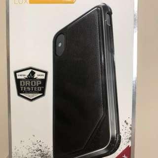 iPhone X case (X-doria Defense Lux)