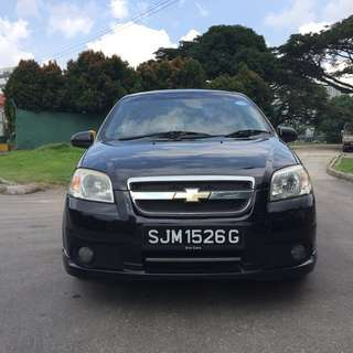Chevrolet Aveo 1.4A for rent(Ready for grab & uber use)more details below