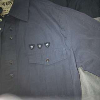 Guess vintage navy shirt size m