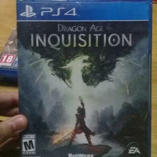 PS4 GAME: Dragon Age: Inquisition