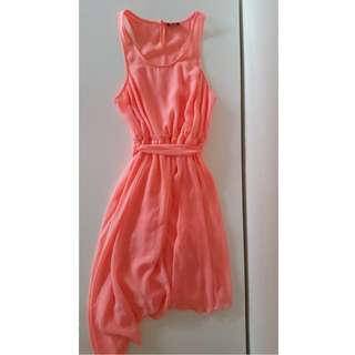 Bardot Peach Dress FREE POSTAGE