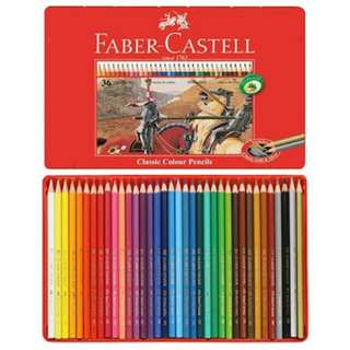 Faber Castell 36 Colors in Tin Case *repriced*