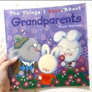 The things i love about children story book