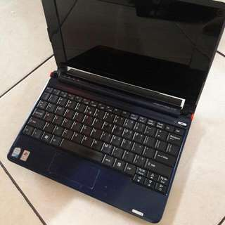 Notebook Aspire One ZG5