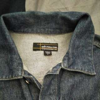 Denim jacket size L