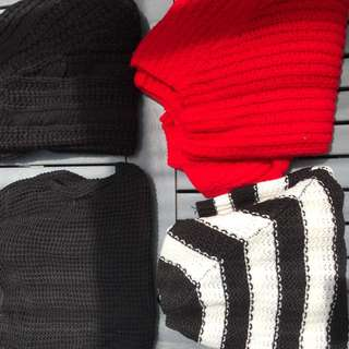 Various jumpers
