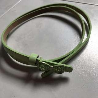 Light green colour belt