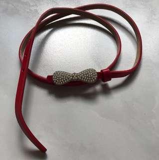 Red colour belt