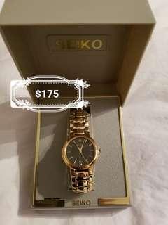 Seiko Gold Men's Watch.