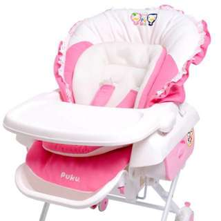 ❗️Reduced❗️Puku 2 in 1 Swing Chair & Bed