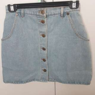The Fifth Label denim skirt