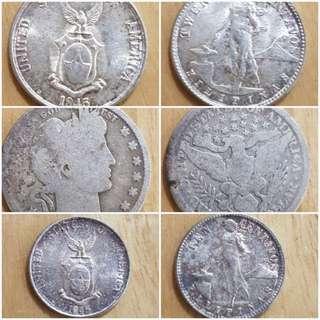 Silver Vintage coins
