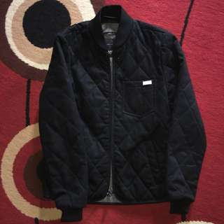 Zara Quited Bomber Jacket