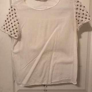 Zara Beaded T-Shirt