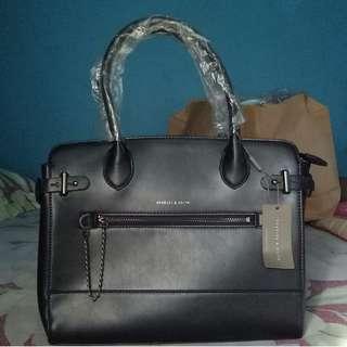Charles & Keith Hand Bag (Black)